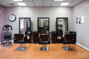 Interior of Hair Salon Falls Church VA