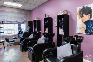 Interior of Hair Salon Falls Church VA