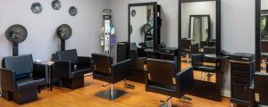 Interior of Hair Salon located in Falls Church VA