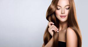Woman with beautifull long hair